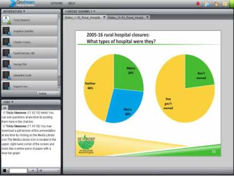 Webinar: Opportunities and Challenges for Rural Hospitals