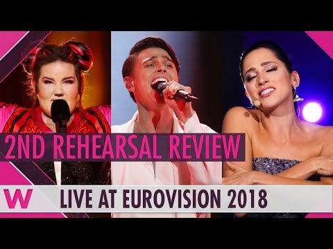 Second Rehearsals: Israel, Belarus, Estonia @ Eurovision 2018 (Review) | wiwibloggs