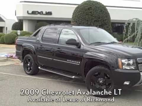Awesome 2009 chevrolet avalanche lt w offroad package 2009 chevrolet avalanche lt w offroad package available at lexus of richmond sciox Image collections