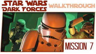 Star Wars Dark Forces Gameplay Walkthrough - Mission 7 - Deadly Cargo [Let