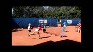 Hot Shots Tennis Warm Up Activities
