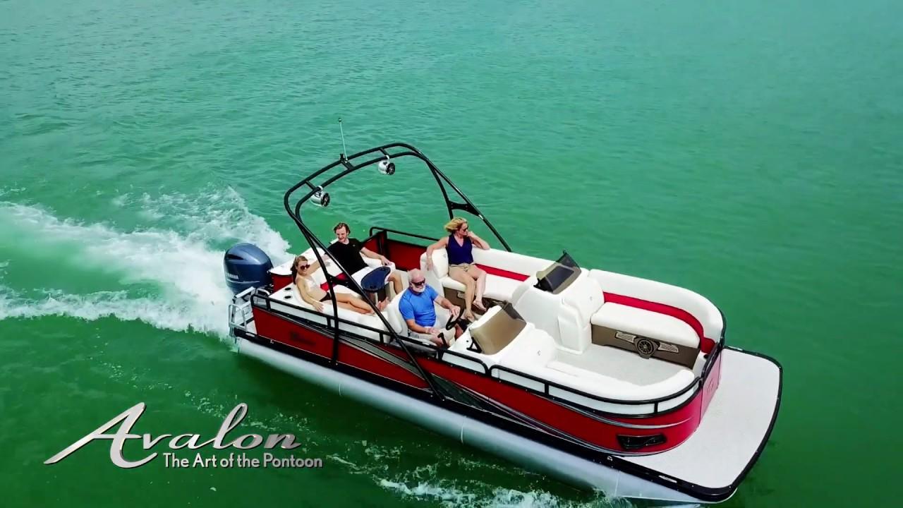 GS Fish Pontoon Boat | Avalon Pontoon Boats