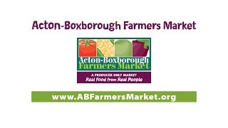 Acton-Boxborough Farmers Market Cooking Demo: September 18th, 2016