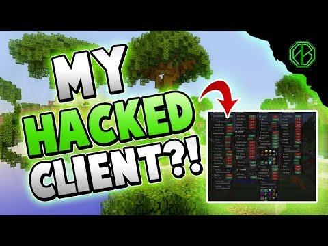 RELEASING MY SECRET HACKED CLIENT! ( Hypixel Skywars )