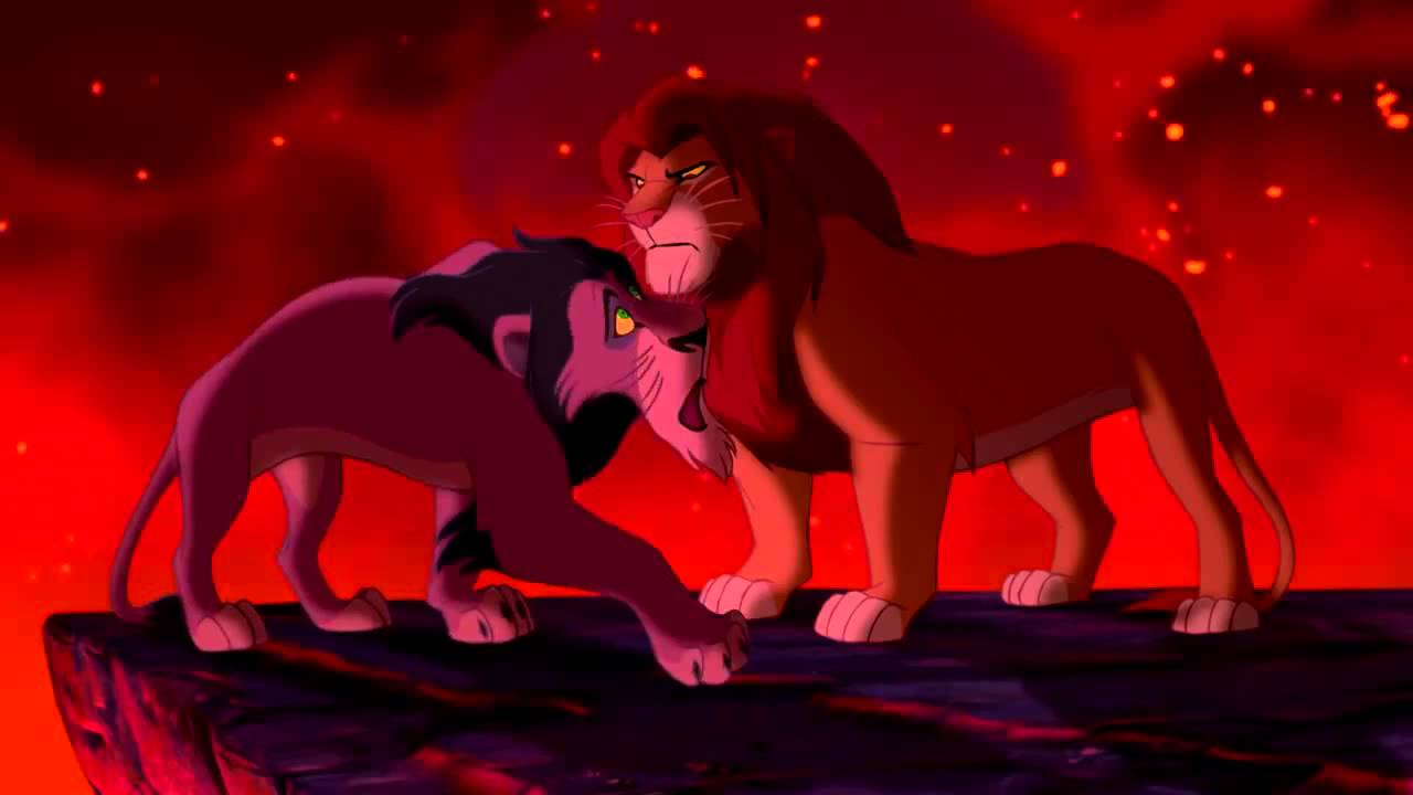 le roi lion duel final entre simba et scar hd youtube. Black Bedroom Furniture Sets. Home Design Ideas
