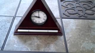 now and zen alarm mantel clock