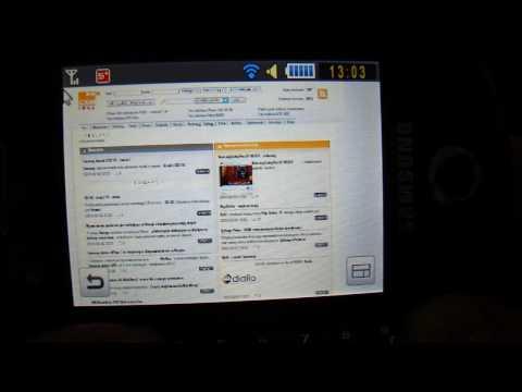 Samsung Corby Pro GT-B5310 - pulpit, menu, wybrane funkcje - GSMonline.pl