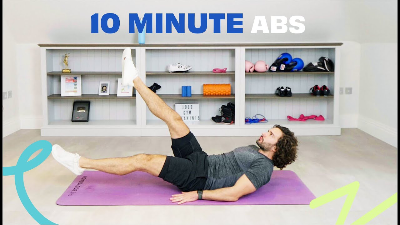 10 Minute Abs Workout | The Body Coach