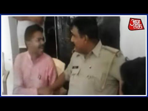 BJP MLA Shivendra Gupta Threatens To Slap Police Officer In Uttar Pradesh