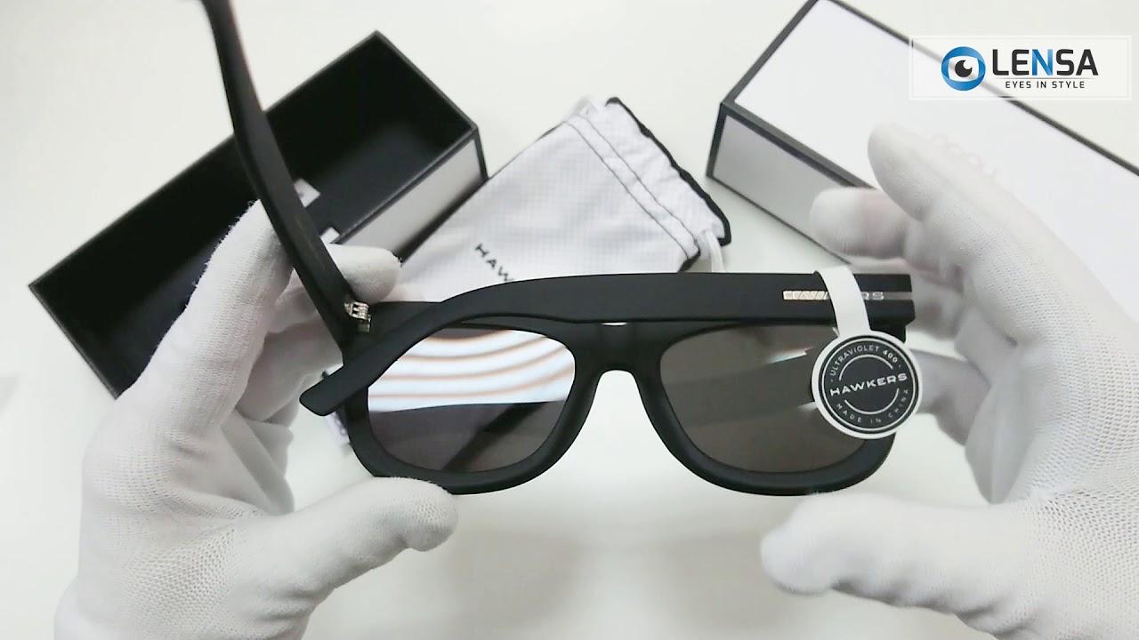 Unboxing ochelari de soare unisex Hawkers NOB01 Carbon Black Dark Nobu –  LENSA.RO b62595d645f