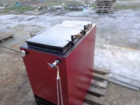 Своими руками. Шахтный Котел  длительного горения 25 кВт Холвова ГОРИТ ВСЕ !!!