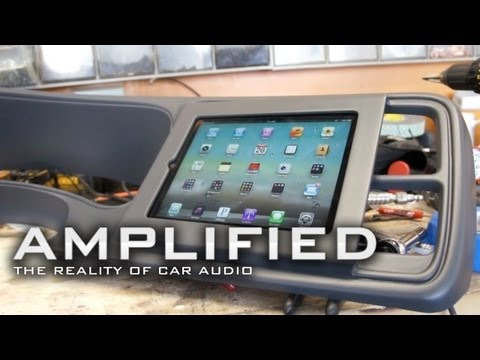 Amplified - IPad Installed Into Dash Chevy Truck, How To Build Speaker Tester Amplified 77