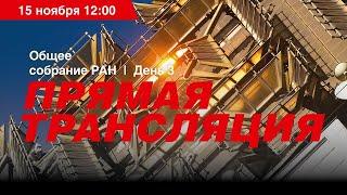 Общее собрание РАН. День 3