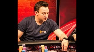 Montreal partypoker BIG GAME. High stakes cash! OMAHA!
