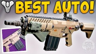 Destiny: MY FAVORITE AUTO RIFLE! God Roll Zarinaea D From the Gunsmith (Age of Triumph)
