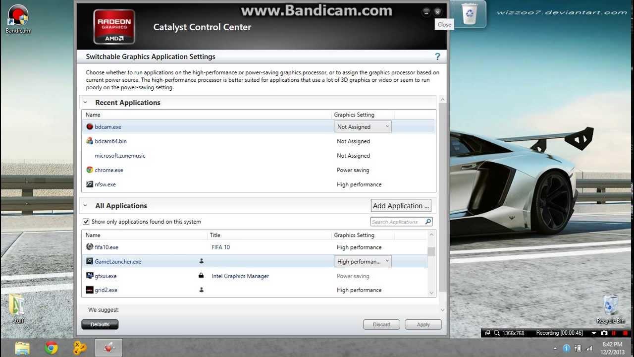 How to enable your dedicated graphics card on Lenovo g500(AMD RADEON HD  8570m)
