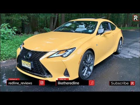 Has The Restyled 2019 Lexus RC 300 F-Sport Become a Baby LC?