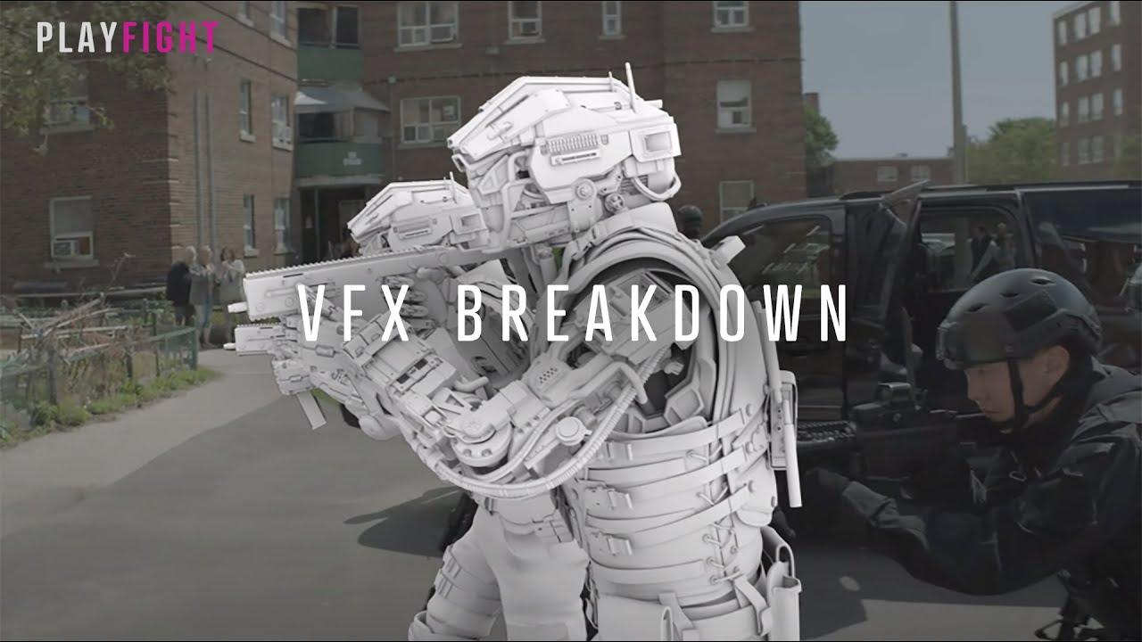 CODE 8 | VFX Breakdown | Playfight VFX [Robbie Amell, Stephen Amell, Sung Kang]