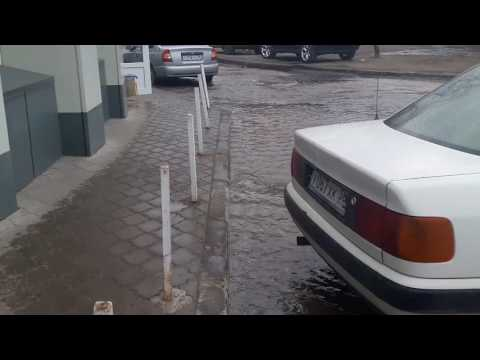Потоп на Хользунова в Воронеже
