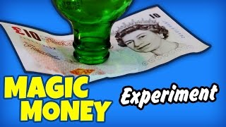 Magic Money - Amazing Science Experiments That You Can Do At Home Cool Science Experiments