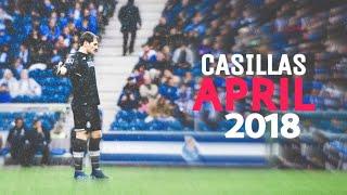 Iker Casillas    April 2018 Best Saves    HD 1080p