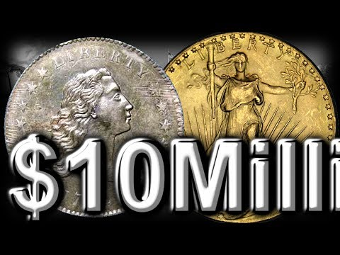 Most Valuable Coins In The World  - 1794 Flowing Hair Dollar