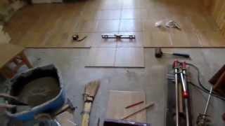 Мой способ укладки половой плитки на кухне(Инструменты и аксессуары для укладки плитки здесь http://ali.pub/95nxa не дорого.Скидки на товары в интернет магазин..., 2015-06-22T15:59:30.000Z)