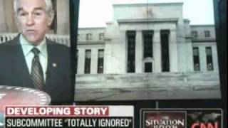 CNN Attacks Ron Paul For Going After The Fed And Defending WikiLeaks Aired 12 14 2010