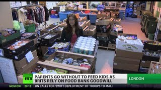 Hidden Hunger: Kids in UK rely on food banks
