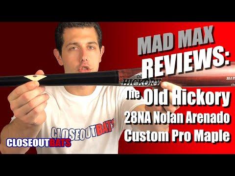 Details about  /Old Hickory 28NA Nolan Arenado Pro Model Maple Wood Baseball Bat
