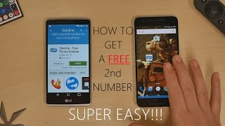 How to get a FREE 2nd Phone Number - SideLine