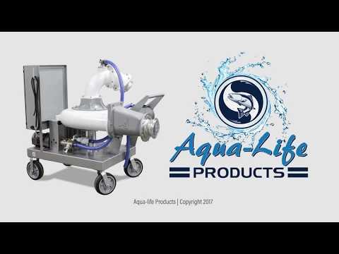 Fish Pump Aquaculture - BP60 RAS Grading Movement