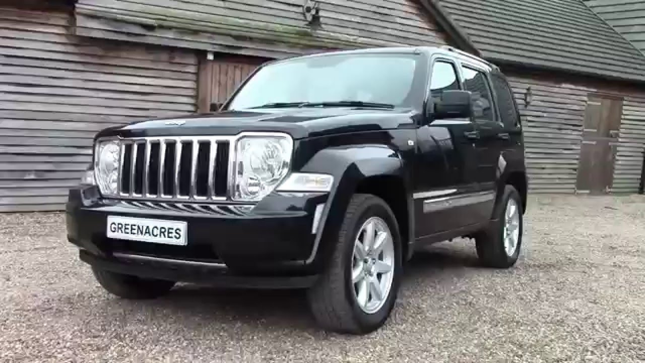 used 2010 10 reg jeep cherokee 2 8 crd limited 4x4 for. Black Bedroom Furniture Sets. Home Design Ideas
