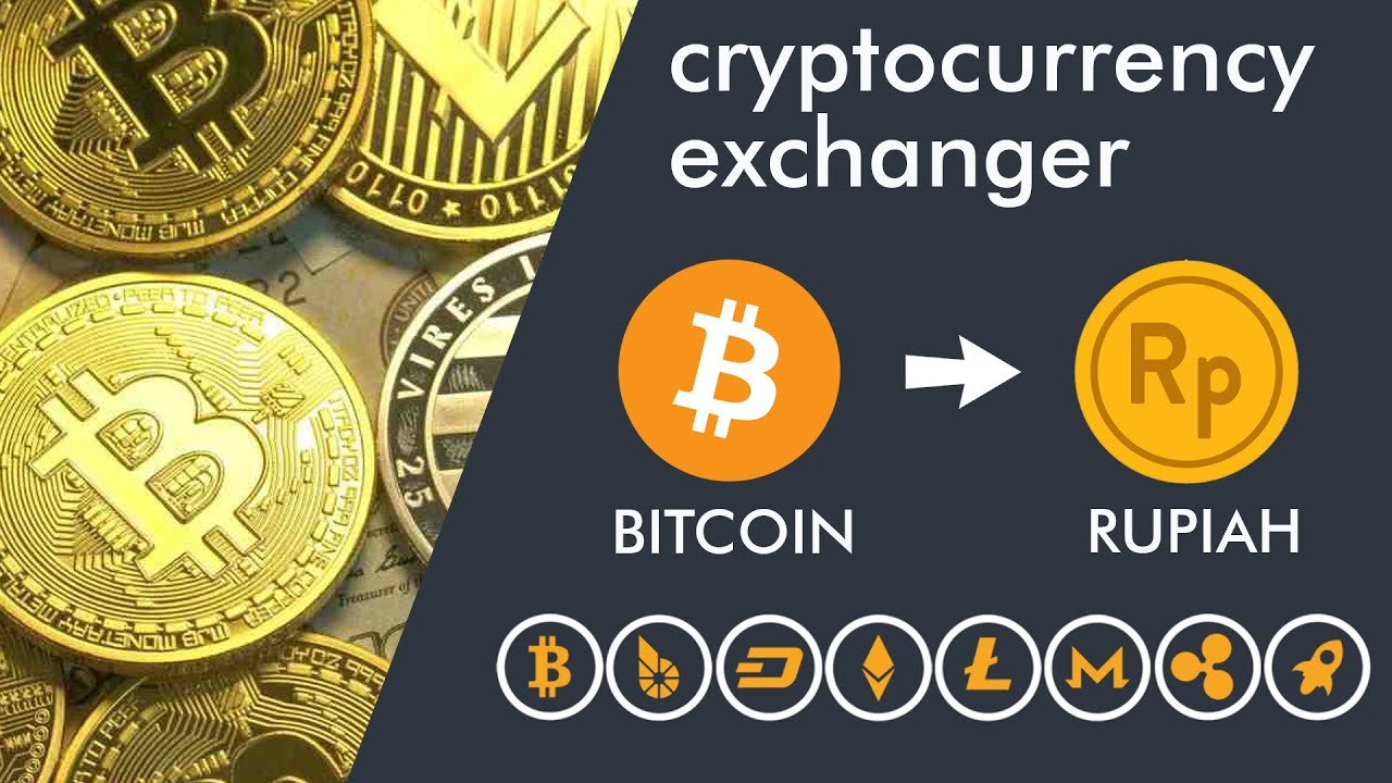 Cara Penarikan Bitcoin ke Rekening BANK BitCoin Exchanger to IDR Menukar Criptocurrency ke Rupiah