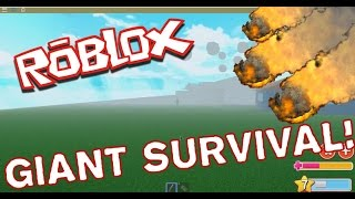 GIANT HUNTING!! ROBLOX English! [Giant Survival]