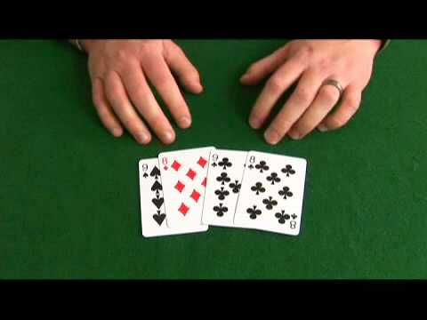 Omaha Hi-Lo Poker: 9, 9, 8, 8 Hand