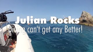 BYRON BAY DIVING - Julian Rocks Marine Reserve - Christmas 2014
