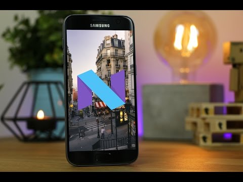 Official Nougat 7.0 on the Galaxy S7!