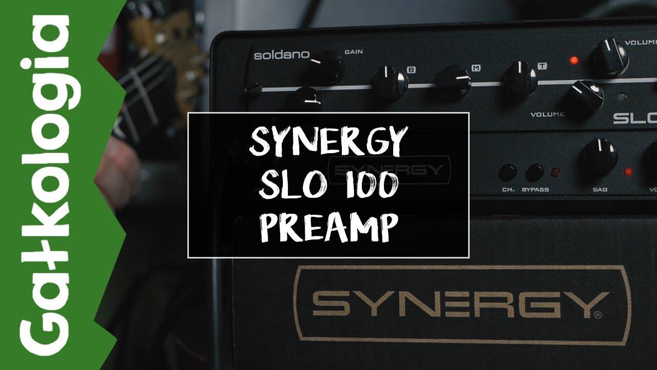 Synergy Soldano SLO100 Preamp [GAŁKOLOGIA]