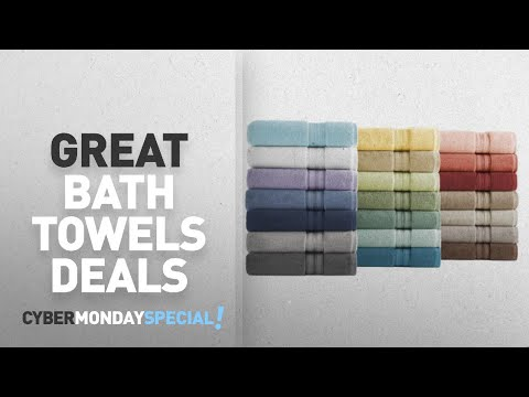 Walmart Top Cyber Monday Bath Towels Deals: Better Homes and Gardens Thick and Plush Solid Bath