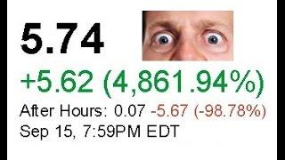 Penny stock 5000% gain overnight // penny stock trading, penny stock scams, trading stocks 101