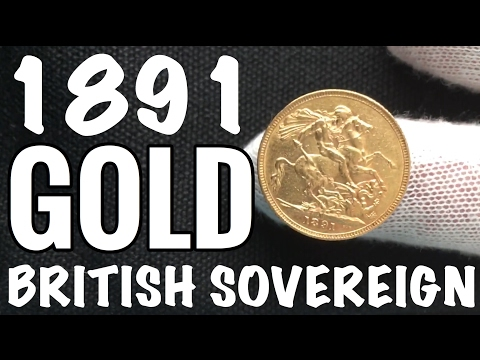 Gold British Sovereign BEAUTIFUL! - British Fractional Gold
