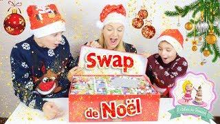 SWAP DE NOËL AVEC L'ATELIER DE ROXANE ! ♡ thumbnail