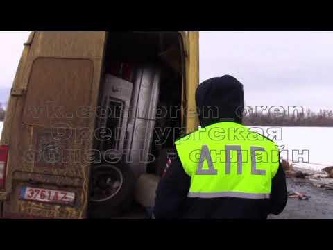 ДТП на трассе Самара-Оренбург. Пострадали 8 кыргызов