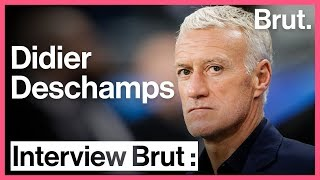 Interview Brut : Didier Deschamps