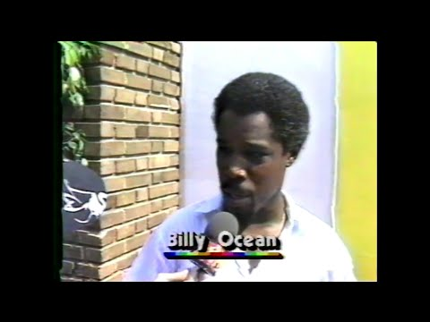 MTV Interview - Billy Ocean (MTV - Live Aid 7/13/1985)