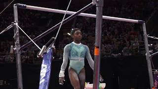 Simone Biles Uneven Bars 2018 U S Gymnastics Championships Senior Women Day 2