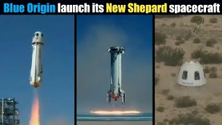 Blue Origin launched New Shepard spacecraft, tested high-altitude emergency abort system | TimeLapse