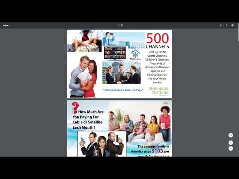 TVIZION Get PAID FROM YOUR CABLE TV PROVIDER (PREPAID CABLE)