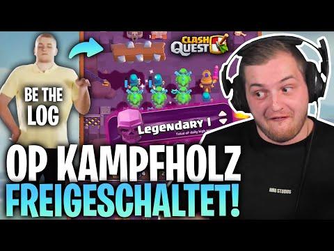😂🤩 KAMPFHOLZ und BABY DRAGON zu OP!   Road to Legendary I in der Clash Quest Liga!